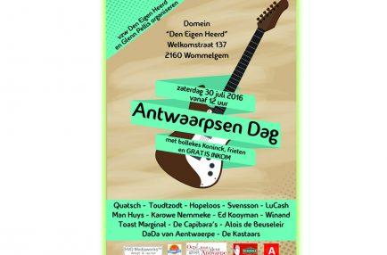 AntwerpseMuziek – 2016-07-30 Antwaarpsen Dag