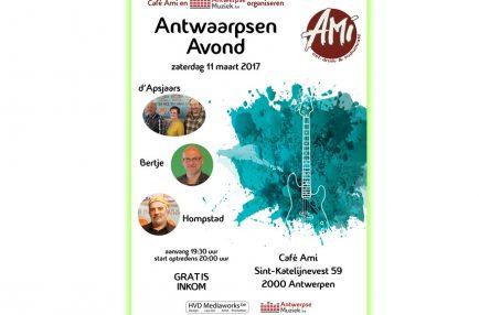 AntwerpseMuziek – 2017-03-11 Antwaarpsen Avond