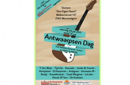 AntwerpseMuziek – 2017-07-29 Antwaarpsen Dag