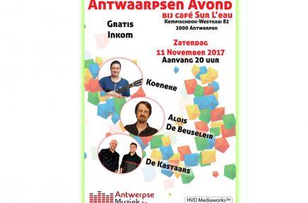 AntwerpseMuziek – 2017-11-11 Antwaarpsen Avond