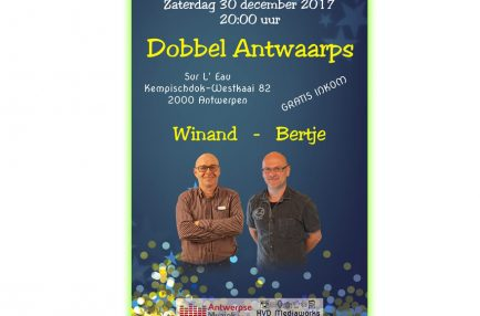 AntwerpseMuziek – 2017-12-30 Dobbel Antwaarps