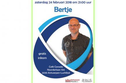 AntwerpseMuziek – 2018-02-24 Bertje [Café Canada]