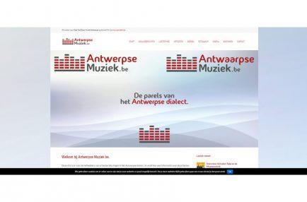 AntwerpseMuziek – website friont
