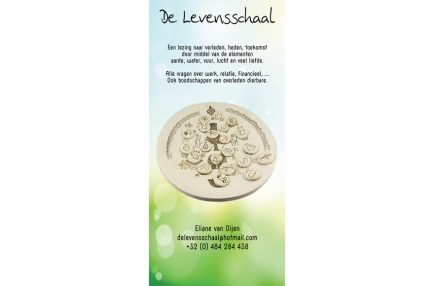De Levensschaal – Roll'up Banner