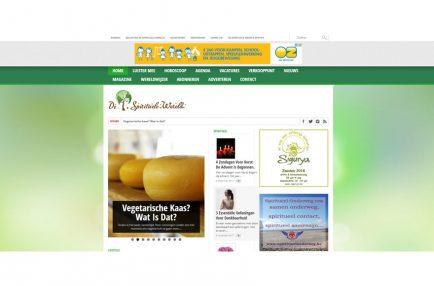 De Spirituele Wereld Website