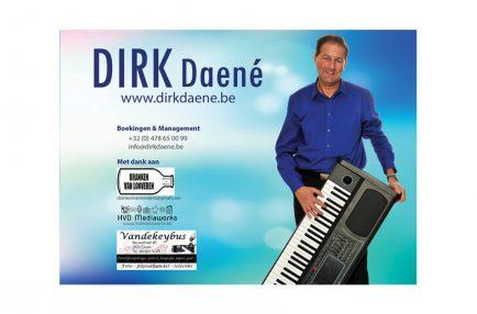 Dirk Daené – Fancard A5 – achterkant