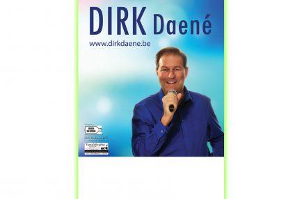 Dirk Daené – Optreden poster