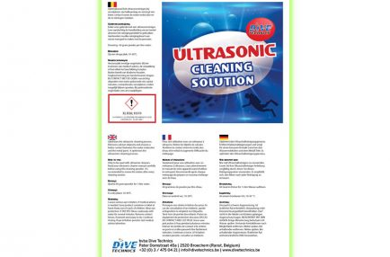 Dive Technics – Ultrasonic Cleaning Solution