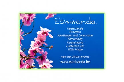 Esmiranda – Voorkant