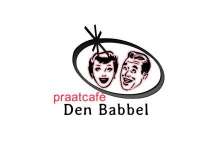 Praatcafé Den Babbel – Logo