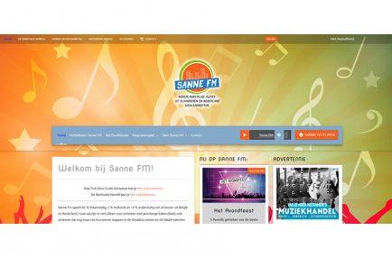 Sanne FM – Website