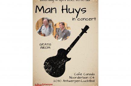 AntwerpseMuziek – 2018-04-14 Man Huys in concert