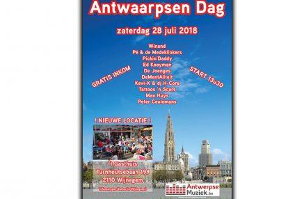 AntwerpseMuziek – 2018-07-28 Antwaarpsen Dag