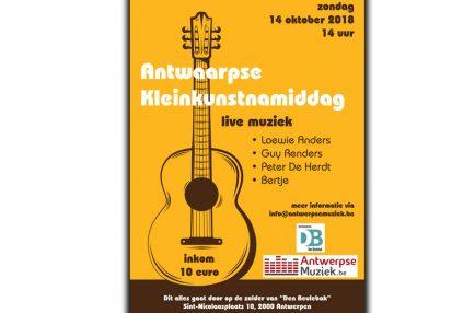 AntwerpseMuziek – 2018-10-14 Antwaarpse Kleinkunstnamiddag