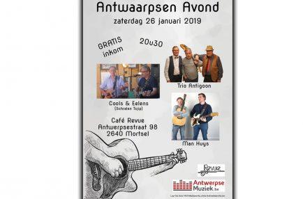 AntwerpseMuziek – 2019-01-26 Antwaarpsen Avond